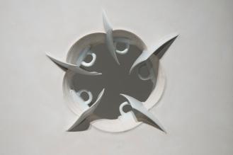 Thomas Edwards concrete and mass produced ceramic sculpture