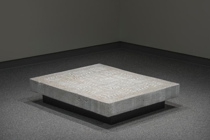 Thomas Edwards concrete and ceramic one hundred plates