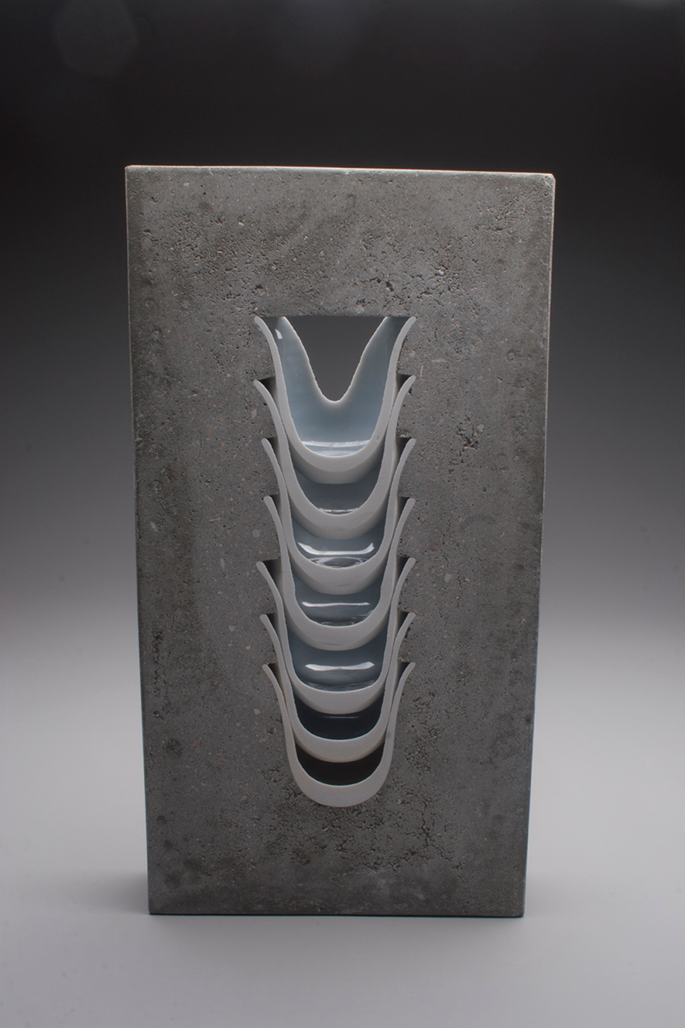 Thomas Edwards concrete and ceramics sculpture Ridge Ceramics Top 40