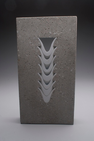 Thomas Lowell Edwards concrete and ceramics sculpture Ridge Ceramics Top 40