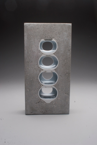 Thomas Lowell Edwards concrete and ceramics sculpture
