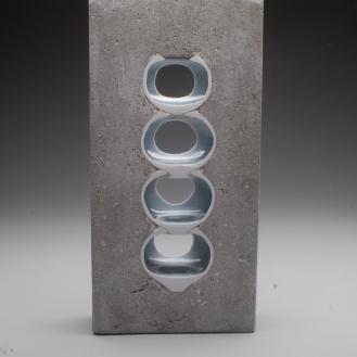 Thomas Lowell Edwards concrete and ceramics sculpture